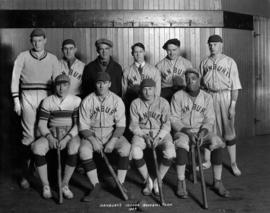Hanbury's Indoor Baseball Team, 1924