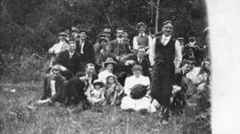 [Picnic group at Howe Sound]