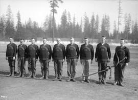 """Connaught 158"" Tug-of-war team"