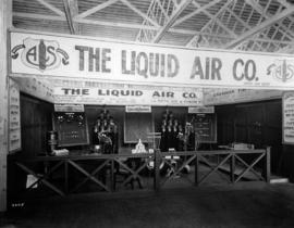 Liquid Air Co. display of welding and cutting products