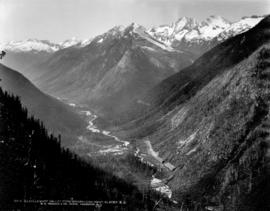 Illecillewaet Valley from Observation Point, Glacier, B.C.