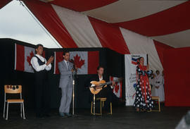 Mozaico Flamenco performance during the Centennial Commission's Canada Day celebrations