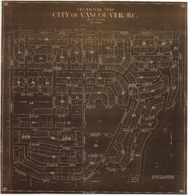 Sectional map : City of Vancouver, B.C. : sheet no. S.V. 29