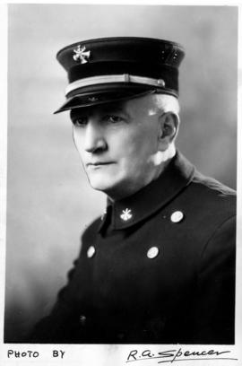 John Henry de Graves, Fire Chief, Vancouver