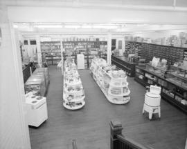 Interior [of an appliance] store, Ocean Falls, B.C.