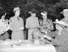 C.W.A.C.'s garden party at Hycroft