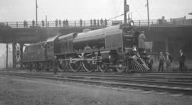 The Royal Scot [L.M.S. 6100 Steam Eng.] at South Tunnel Portal