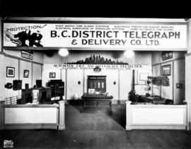 B.C. District Telegraph and Delivery Co. display of fire and burglary protection systems