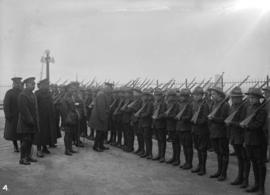 29th Battalion [inspection of cadets]