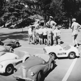 Children attend Traffic School in Stanley Park
