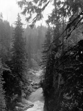 [Unidentified river through canyon]