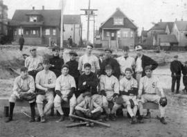 [Unidentified baseball team]