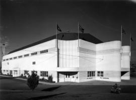 Exterior of Garden Auditorium