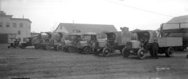Evans, Coleman and Evans Ltd. Fleet of Trucks