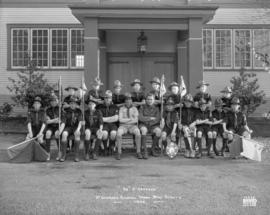 """34th St. George's"" - St. George's School - Troop Boy Scouts 1933"