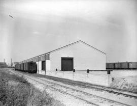 C.N.R. freight shed [on] Railway Street