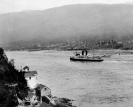 "[Union Steamer ""Lady Cynthia"" leaving First Narrows]"