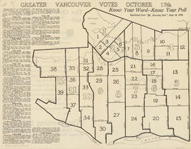 Greater Vancouver votes October 17th : know your ward - know your poll