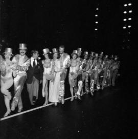 Grace McCarthy with A Chorus Line actors