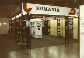 Pacific Industrial Equipment and Materials Handling Show - Romania display booth