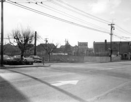[View of the southwest corner of Maple Street and 41st Avenue]