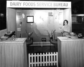Dairy Foods Service Bureau display