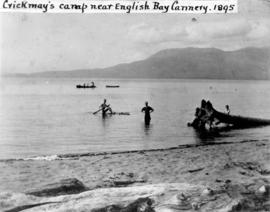 Crickmay's camp near the English Bay Cannery