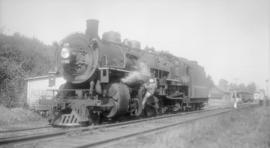 [N.P. Steam, Road Eng. #1791 Class 2-8-2]