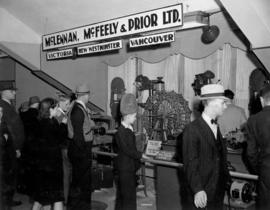 McLennan, McFeely and Prior display of industrial machinery