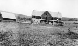 [The Comar Ranch house prior to demolition]