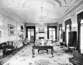 "A sitting room at ""Hycroft"""