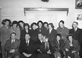 [Members of the Cates Family attend a Council meeting which dedicated an area of Roche Point as &...