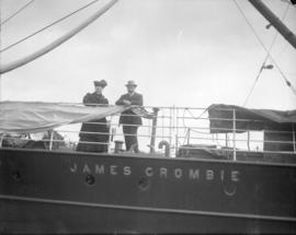"[Relatives of John Davidson on the ""James Crombie""]"