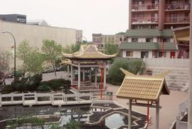 Garden at the Winnipeg Chinese Cultural and Community Centre