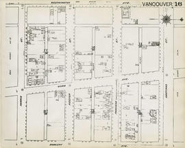 Plan of Vancouver, 1889 [fire map] : [Hastings Street to Westminster Avenue to Harris Street to D...