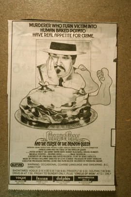 "Poster for ""Charlie Chan and the Curse of the Dragon Queen"""