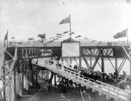 Opening of New Westminster Railway Bridge