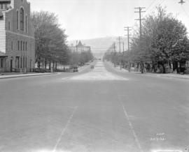 [View of] Burrard St. north from Nelson