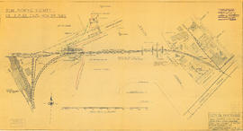 Plan showing vicinity of Fisher Case, Nov 9th, 1949