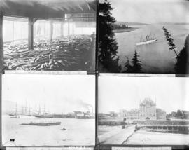 One negative with four maritime images
