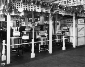 Jarvis Electric Co. display of household appliances