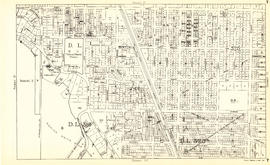 Sheet T : Larch Street to Granville Street and Forty-ninth Avenue to Sixty-first Avenue