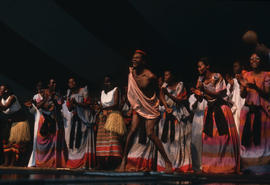 The Nyonza Singers performance during the Centennial Commission's Canada Day celebrations