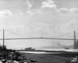[Lions Gate Bridge viewed from Ambleside]