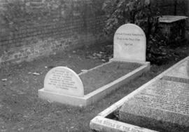 Grave of Captain George Vancouver at St. Peter's Parish Church, Petersham, England