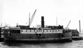 "[S.S. ""Cariboo"" at dock]"