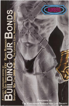 A charity fundraiser hosted by Mr. Gay Vancouver XXV Barry Romanov : building our bodies : Saturd...
