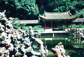 Gardens - China, Japan : garden, Taihua temple, Shisang (west hill), Kunming