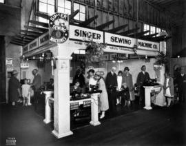 Singer Sewing Machine Co. display