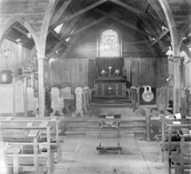 [Interior of St. Paul's Church at 1222 Hornby Street]